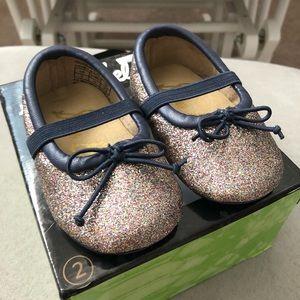 15d18438ece2 Sam Edelman Shoes - New! Sam Edelman baby girl glitter flats size 2